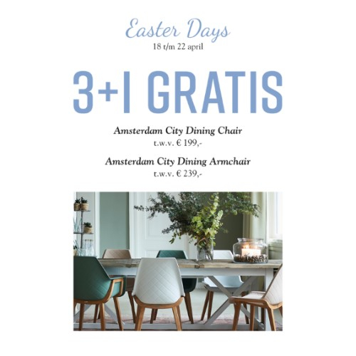 Amsterdam City dining chair
