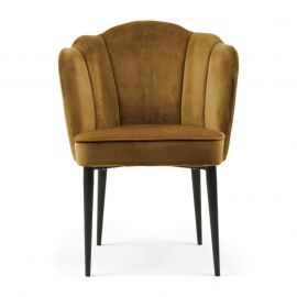 Lauderdale Armchair Black Leg Velvet Windsor Green
