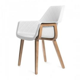 Amsterdam City Dining Armchair White