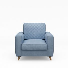 Kendall Armchair Cotton Ice Blue