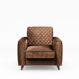Kendall Armchair Velvet Chocolate