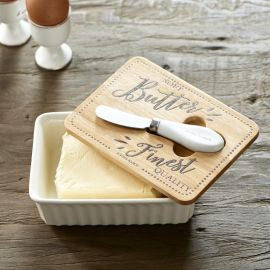 Finest Quality Butter Dish