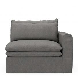 Continental Corner Right Classic Charcoal