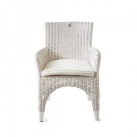 The Hamptons Dining Armchair White