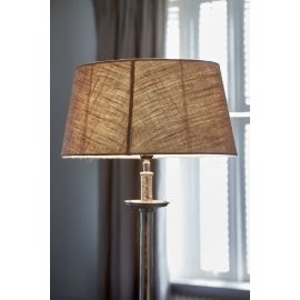 Fabulous Flax Oval Lampshade 23x33