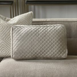 The Classic Club Quilted Box Pillow 50x30