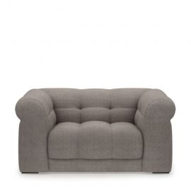 Cobble Hill Love Seat washed cotton stone