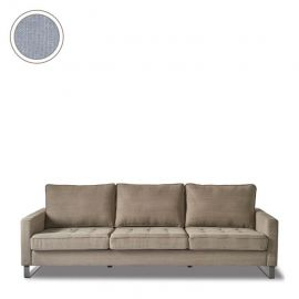 West Houston Sofa 3,5s Cotton Ice Blue