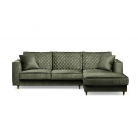 Kendall Sofa Right Velvet Ivy