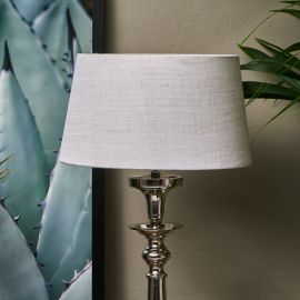 Loveable Linen Lampshade sand 25x30