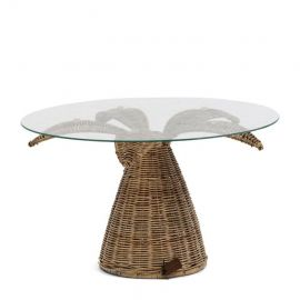 Palm Tree End Table