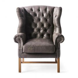 Franklin Park Wing Chair Pellini Espresso