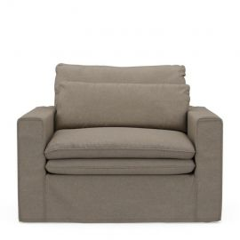 Continental Love Seat Anvers Flax