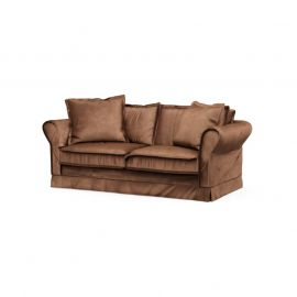 Carlton Sofa 2,5S Velvet Chocolate