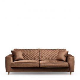 Kendall Sofa 3,5s Velvet Chocolate