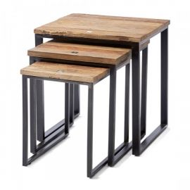 Shelter Island End Table Set of 3